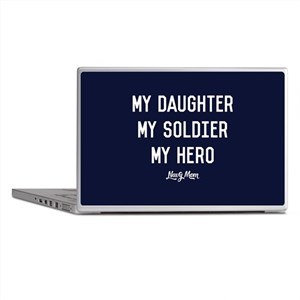 U.S. Navy My Daughter My Soldier My H Laptop Skins