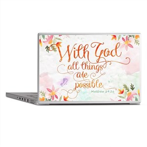 With God Laptop Skins