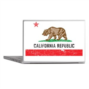 California_shirt Laptop Skins