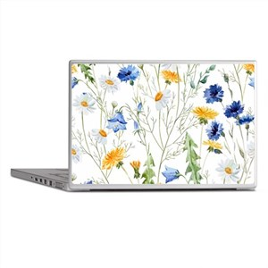 Pretty Spring Fresh Floral Laptop Skins