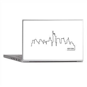 New York cityscape Laptop Skins