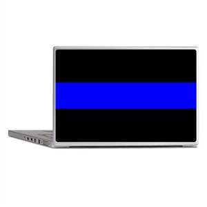 Police: The Thin Blue Line Laptop Skins