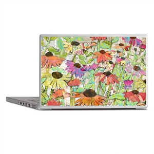Floral Daisy Spring Laptop Skins