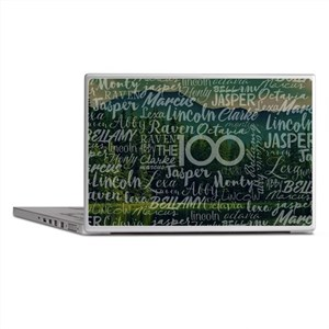The 100 TV Show Laptop Skins