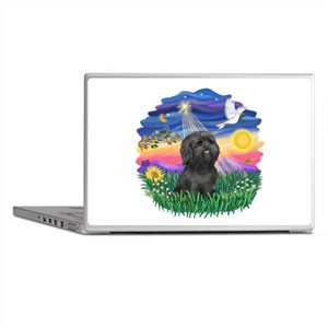 Twilight-BlkShihTzu Laptop Skins