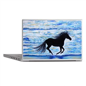 Running Free by the Sea 2 Laptop Skins