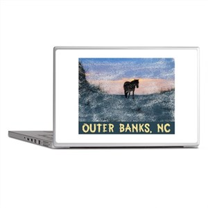 Outer Banks Dune Wild Horse Laptop Skins