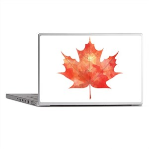 Maple Leaf Art Laptop Skins