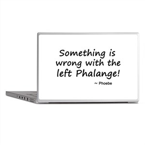 'The Left Phalange!' Laptop Skins