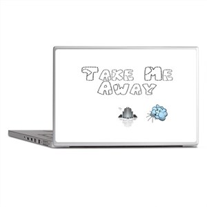 Take Me Away Laptop Skins