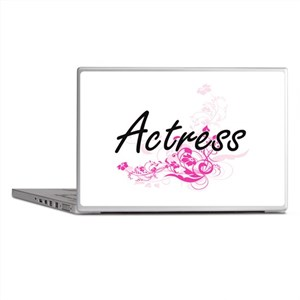 Actress Artistic Job Design with Flow Laptop Skins