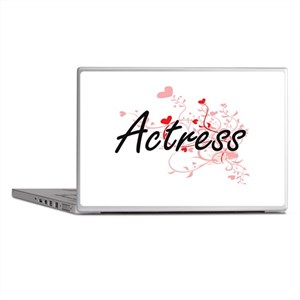 Actress Artistic Job Design with Hear Laptop Skins