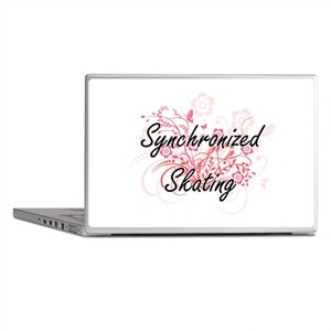 Synchronized Skating Artistic Design Laptop Skins