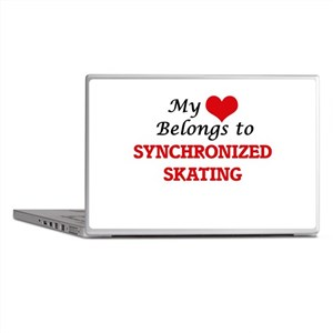 My heart belongs to Synchronized Skat Laptop Skins