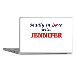 Madly in Love with Jennifer Laptop Skins