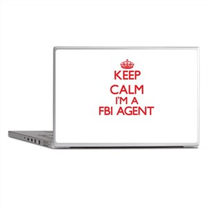 Keep calm I'm a Fbi Agent Laptop Skins