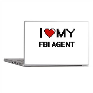 I love my Fbi Agent Laptop Skins