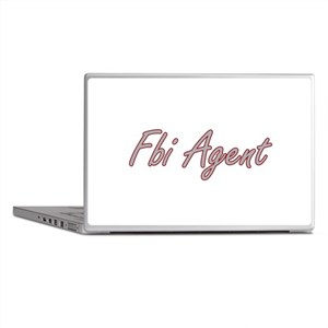 Fbi Agent Artistic Job Design Laptop Skins