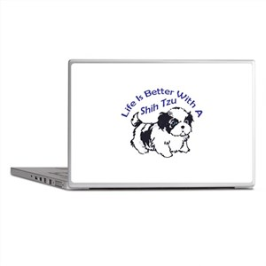BETTER WITH SHIH TZU Laptop Skins