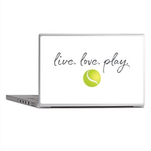 Live Love Play Tennis Laptop Skins