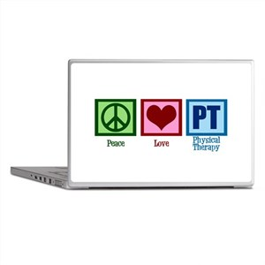 Peace Love PT Laptop Skins