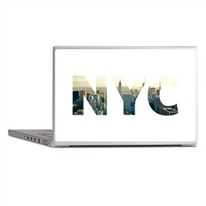 NYC for NEW YORK CITY - Typo Laptop Skins