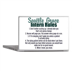Dr. Bailey's Rules Laptop Skins