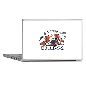 Better With Bulldog Laptop Skins