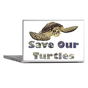 save-our-turtles Laptop Skins