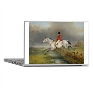Clearing the Fence on the Hunt Laptop Skins