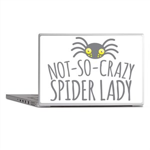 Not-So-Crazy Spider lady Laptop Skins