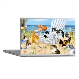 Kittens Glass Cutting Board Laptop Skins