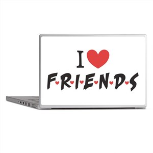 I heart Friends TV Show Laptop Skins