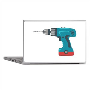 Power Drill Laptop Skins