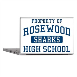 Property Of Rosewood Sharks Pretty Li Laptop Skins