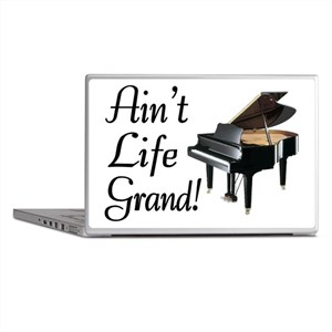 Ain't Life Grand Piano Laptop Skins