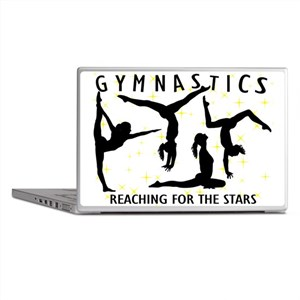 Gymnastics Reaching For The Stars Laptop Skins