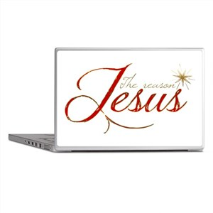 Jesus is the reason for the season Laptop Skins