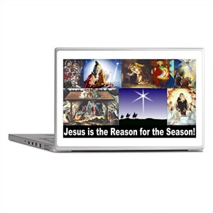 Christmas Nativity Medley Laptop Skins
