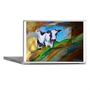 Dairy Cow, animal art, Laptop Skins