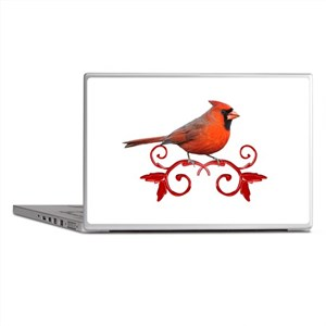 Beautiful Cardinal Laptop Skins