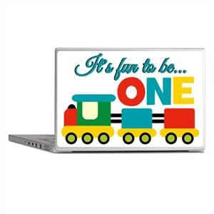 Its Fun to be One Birthday Design Laptop Skins