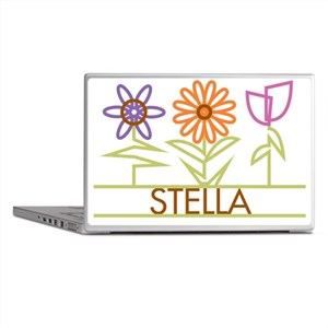 STELLA-cute-flowers Laptop Skins