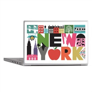 Unique New York - Block by Block Laptop Skins