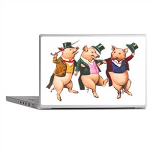 Three Little Pigs Laptop Skins