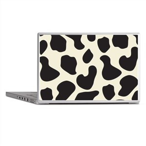 Cow Skin Cow Pattern Laptop Skins