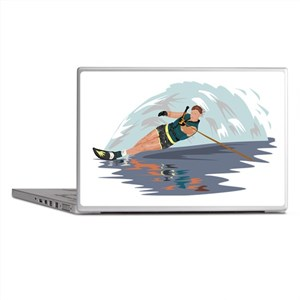 Water Skiing Laptop Skins