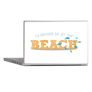I'd rather be at the Beach Laptop Skins