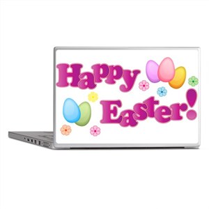 Happy Easter Bunny Laptop Skins