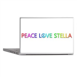 Peace Love Stella Laptop Skins